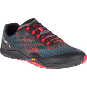 Merrell Trail Glove 4 Shield Shoes Men black/red
